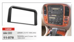 Фото Рамка переходная Carav 11-078 Lexus LX470 98-202/ Toyota LC100 98-03 2DIN