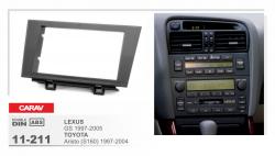 Фото Рамка переходная Carav 11-211 Lexus GS (97-05) Toyota Aristo (S 160) (97-04) 2DIN