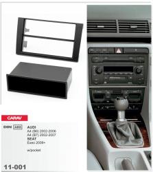 Фото Рамка переходная Carav 11-001 Audi4 2000-2007 2/1DIN