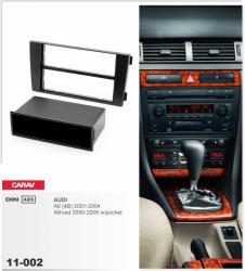 Фото Рамка переходная Carav 11-002 Audi A6 (01-04)/Allroad (00-06) 2/1DIN