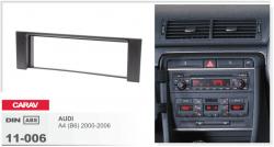 Фото Рамка переходная Carav 11-006 Audi A4 1DIN
