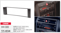 Фото Рамка переходная Carav 11-034 Audi A3/A6/Seat Toledo/Leon 1DIN