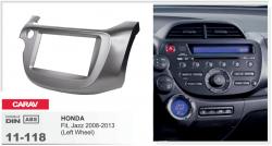 Фото Рамка переходная Carav 11-118 Honda Jazz/Fit (08->) 2DIN