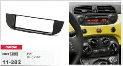 Фото Рамка переходная Carav 11-282 Fiat (500) 07+ 1DIN