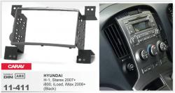 Фото Рамка переходная Carav 11-411 Hyundai H-1 Starex 2007-> black