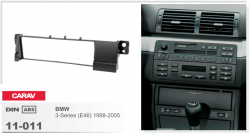 Фото Рамка переходная Carav 11-011 BMW 3 1998-> 1DIN