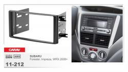 Фото Рамка переходная Carav 11-212 Subaru Impreza/Forester (08->) 2DIN