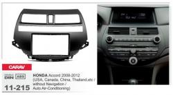 Фото Рамка переходная Carav 11-215 Honda Accord 08-12 2DIN w/air-conditioning, without navigation