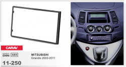 Фото Рамка переходная Carav 11-250 Mitsubishi Grandis 2DIN