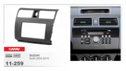 Фото Рамка переходная Carav 11-259 Suzuki Swift 04-10, Dzire 08-10 2DIN