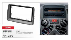 Фото Рамка переходная Carav 11-280 Fiat Panda 03-12 2DIN