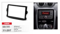 Фото Рамка переходная Carav 11-297 Renault Duster 2010+/Dacia Duster 2010+ 2DIN