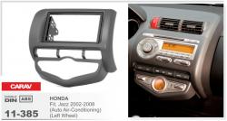 Фото Рамка переходная Carav 11-385 Honda Jazz/Fit 02-08 2DIN