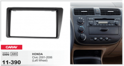 Фото Рамка переходная Carav 11-390 Honda Civic (01+) 2DIN
