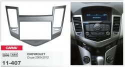 Фото Рамка переходная Carav 11-407 Chevrolet Cruze 2009+ silver 2DIN