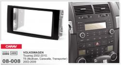 Фото Рамка переходная Carav 08-008 VW Touareg/Multivan 2DIN
