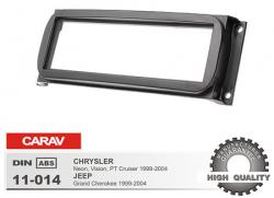 Фото Рамка переходная Carav 11-014 Chrysler/Jeep/Dodge/Plymouth 1DIN