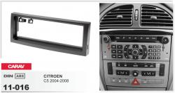 Фото Рамка переходная Carav 11-016 Citroen C5 04-08 1DIN