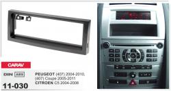 Фото Рамка переходная Carav 11-030 Peugeot 407/Citroen C5 1DIN