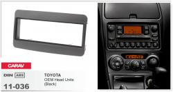 Фото Рамка переходная Carav 11-036 Toyota Celica/Avensis/Yaris/RAV4