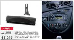 Фото Рамка переходная Carav 11-047 Ford Fiesta 95-01, Focus 98-04, Mondeo 96-03, Transit 00-05 1DIN