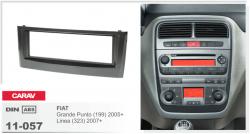 Фото Рамка переходная Carav 11-057 Fiat Punto 05+, Linea 07+ 1DIN