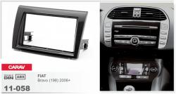Фото Рамка переходная Carav 11-058 Fiat Bravo 06+ 2DIN