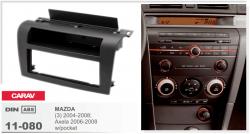 Фото Рамка переходная Carav 11-080 Mazda 3 (2004-08->) 1DIN