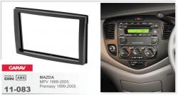Фото Рамка переходная Carav 11-083 Mazda MPV 1999-2005, Premasy 1999-2005 2 DIN