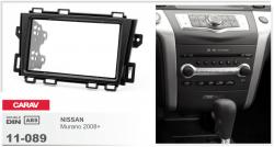 Фото Рамка переходная Carav 11-089 Nissan Murano 08+ 2DIN