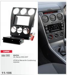 Фото Рамка переходная Carav 11-106 Mazda 6, Atenza 2002-2007 2DIN