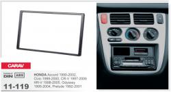 Фото Рамка переходная Carav 11-119 Honda Accord/Civic/CR-V/HR-V 2DIN