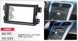Фото Рамка переходная Carav 11-131 Opel Agila/Suzuki Splash/Ritz 2008 2DIN