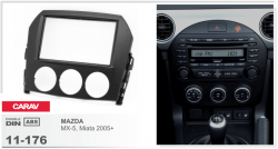 Фото Рамка переходная Carav 11-176 Mazda MX-5, Miata 05+ 2DIN