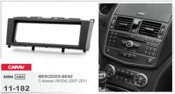 Фото Рамка переходная Carav 11-182 Mercedes-Benz C-class 07-11 1DIN