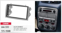 Фото Рамка переходная Carav 11-188 Alfa Romeo 147 00-10, GT 04-10 2DIN