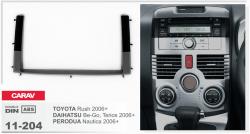 Фото Рамка переходная Carav 11-204 Daihatsu Terios 2006-> 2DIN