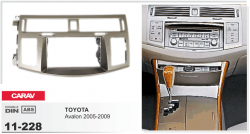 Фото Рамка переходная Carav 11-228 Toyota Avalon 2DIN