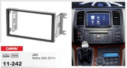 Фото Рамка переходная Carav 11-242 JAC Refine 11+ 2DIN