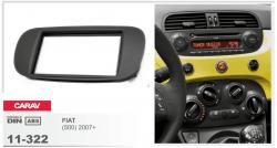 Фото Рамка переходная Carav 11-322 Fiat 500 07+ 2DIN
