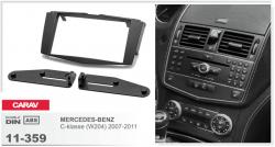 Фото Рамка переходная Carav 11-359 Mercedes-Benz C-class 07-11 2DIN