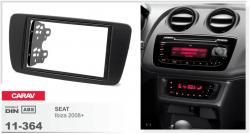 Фото Рамка переходная Carav 11-364 Seat Ibiza 08+ 2DIN