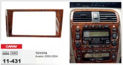 Фото Рамка переходная Carav 11-431 Toyota Avalon 00-04 2DIN