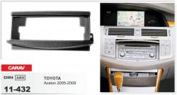 Фото Рамка переходная Carav 11-432 Toyota Avalon 05-09 1DIN