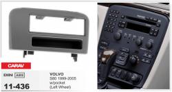 Фото Рамка переходная Carav 11-436 Volvo S80 99-05 1DIN w/pocket (Left Wheel)