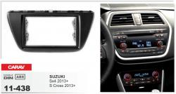 Фото Рамка переходная Carav 11-438 Suzuki SX4 13+, S Cross 13+ 2DIN