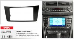 Фото Рамка переходная Carav 11-451 Mercedes Benz E-class(W211) 02-09, CLS-class (C219) 04-10 2DIN