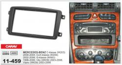 Фото Рамка переходная Carav 11-459 Mercedes-Benz C-Klasse/CLK 2DIN