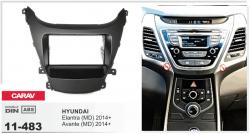Фото Рамка переходная Carav 11-483 Hyundai Elantra (MD), Avante (MD) 2014+) 2DIN