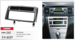 Фото Рамка переходная Carav 11-037 Toyota Corolla 01-06 1DIN